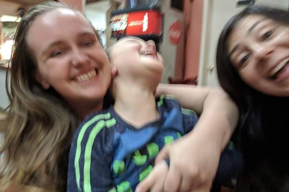 Dominique, Mr K and bio mom